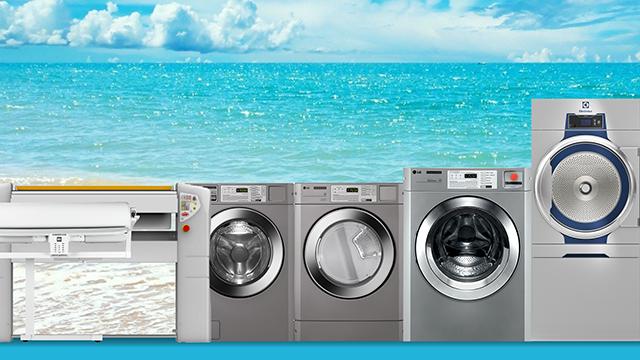 Ljetna akcija profesionalnih perilica i sušilica