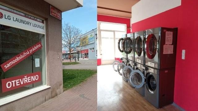 Laundry lounge Prag